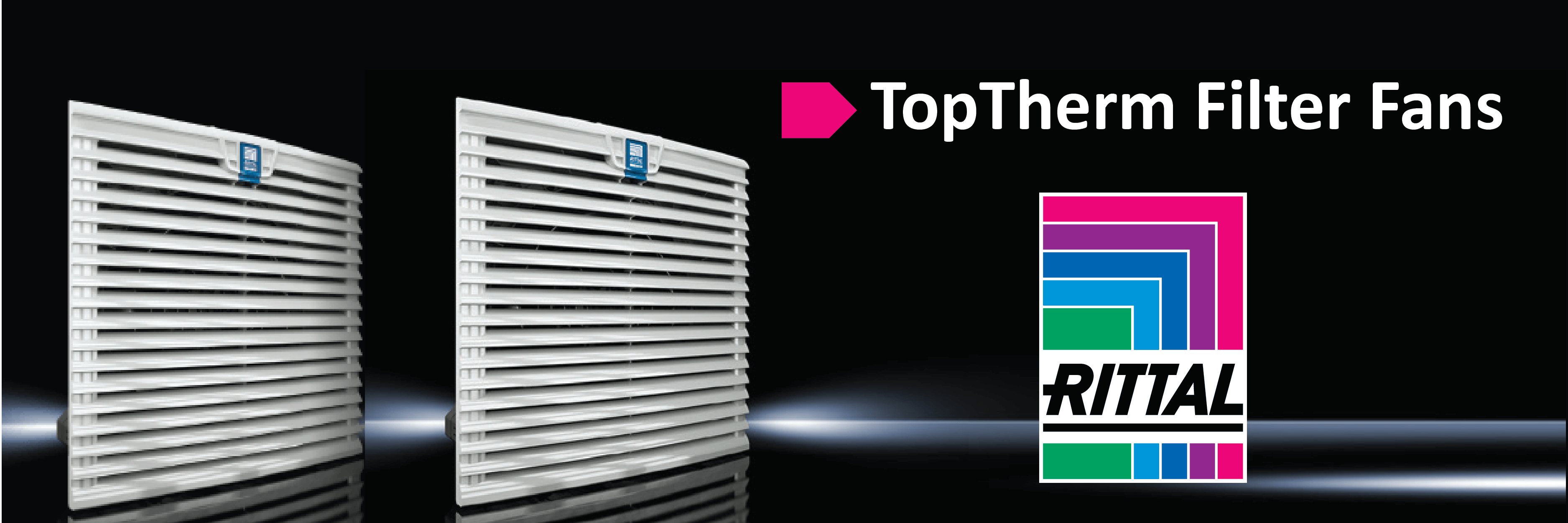 Rittal TopTherm Fans & Filter Units
