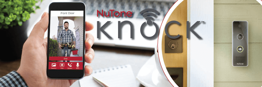 Nutone Smart Knock Doorbell