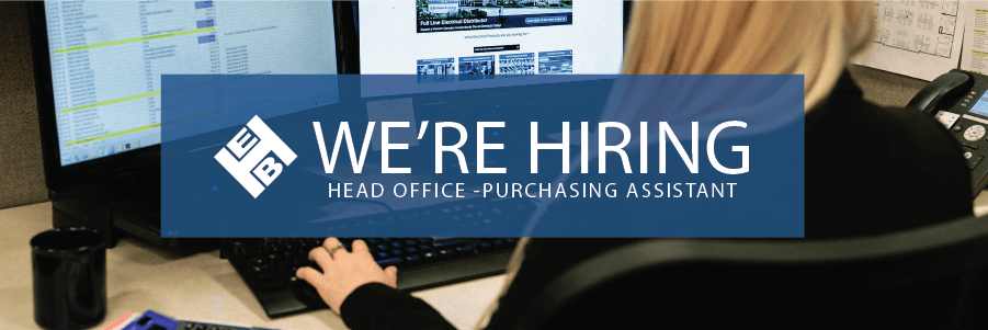 Purchasing Assistant - Head Office