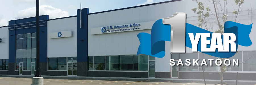 E.B. Horsman & Son Saskatoon Turns One!