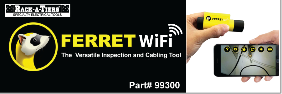 NEW! The Ferret WiFi - Inspection Tool
