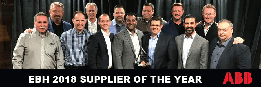 ABB Canada Wins Supplier of the Year