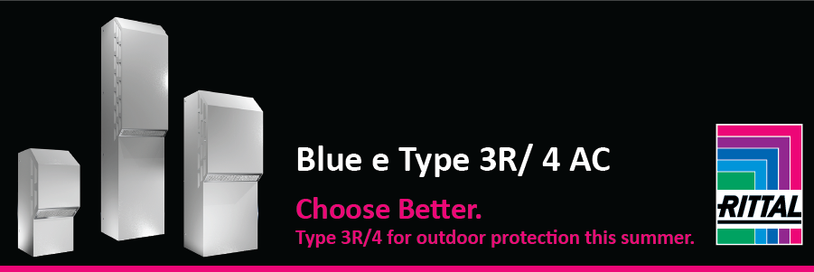 PROMO! Rittal Type 3R/4 Air Conditioners for Outdoor Protection