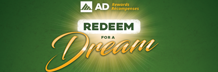 AD Rewards Redeem to Dream