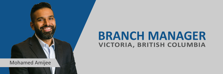 Announcing: Mohamed Amijee, New Victoria Branch Manager