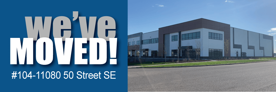 Our Calgary Location Has Moved!