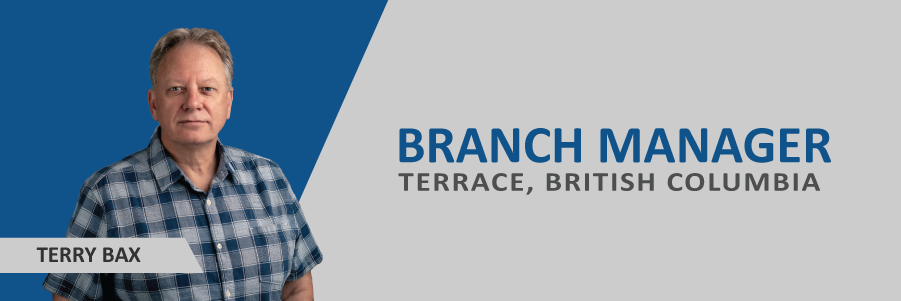 Announcing: Terry Bax, New Terrace Branch Manager