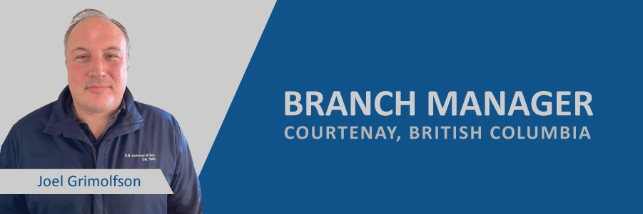 Announcing: Joel Grimolfson, New Courtenay Branch Manager