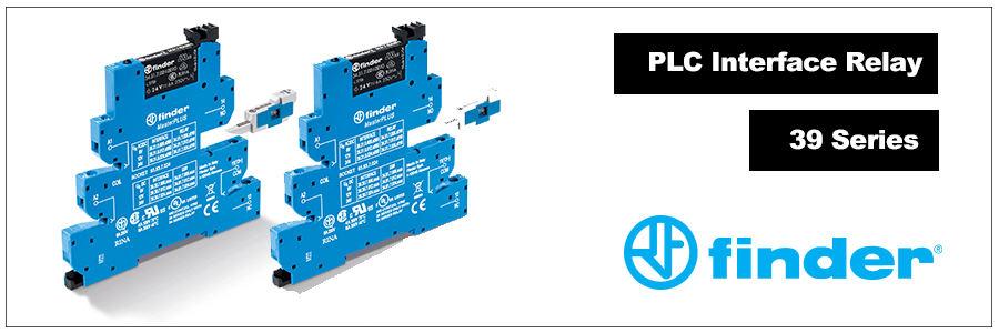 PLC Interface Relay: Finder 39 Series