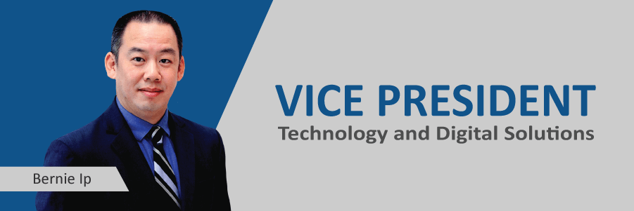 Announcing: Bernie Ip, New VP of Technology and Digital Solutions